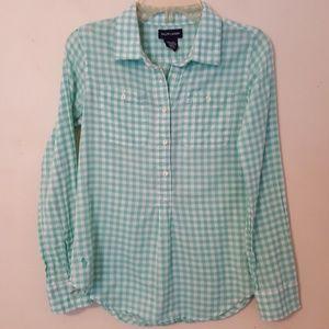 Ralph Lauren Girls Check L/S Shirt 12